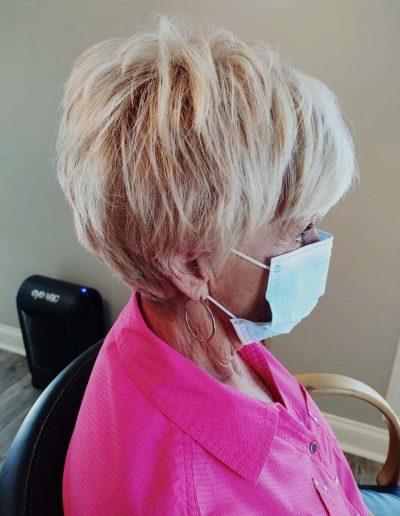 Beauty Hair Salon Masks COVID