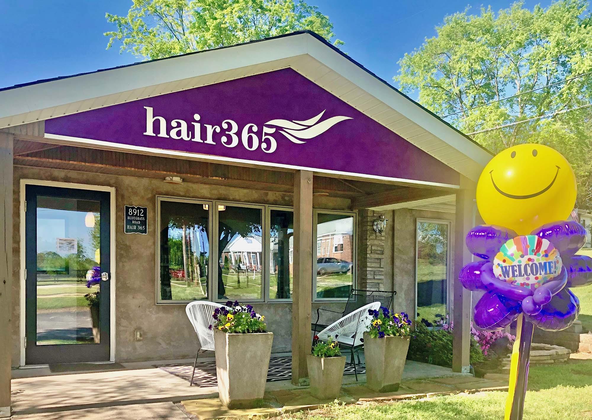Hair 365 Salon Building